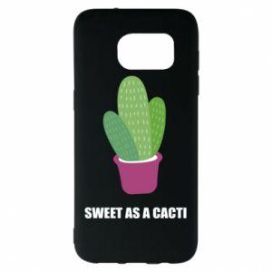 Etui na Samsung S7 EDGE Sweet as a cacti