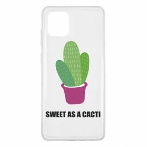 Etui na Samsung Note 10 Lite Sweet as a cacti