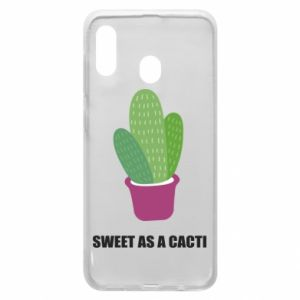 Phone case for Samsung A20 Sweet as a cacti