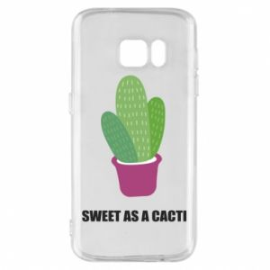 Phone case for Samsung S7 Sweet as a cacti