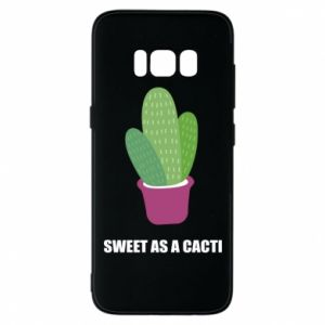 Phone case for Samsung S8 Sweet as a cacti