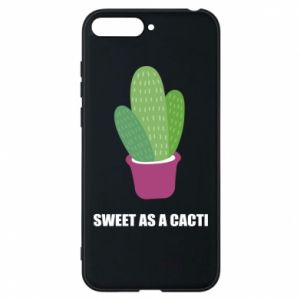 Phone case for Huawei Y6 2018 Sweet as a cacti