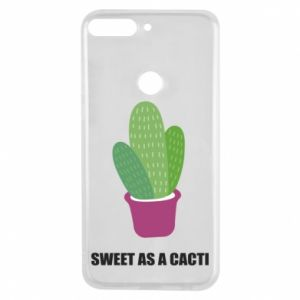 Phone case for Huawei Y7 Prime 2018 Sweet as a cacti