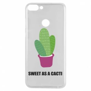 Phone case for Huawei P Smart Sweet as a cacti