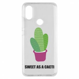 Phone case for Xiaomi Mi A2 Sweet as a cacti