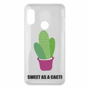 Phone case for Mi A2 Lite Sweet as a cacti