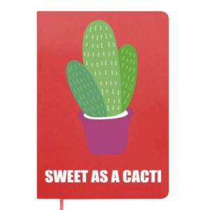 Notepad Sweet as a cacti