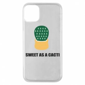 Etui na iPhone 11 Pro Sweet as a round cacti