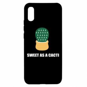 Etui na Xiaomi Redmi 9a Sweet as a round cacti