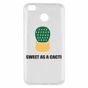 Etui na Xiaomi Redmi 4X Sweet as a round cacti