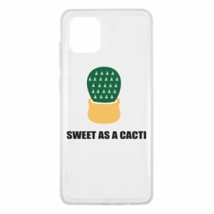 Etui na Samsung Note 10 Lite Sweet as a round cacti