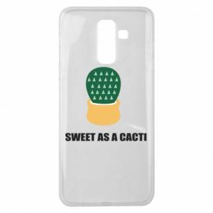 Etui na Samsung J8 2018 Sweet as a round cacti