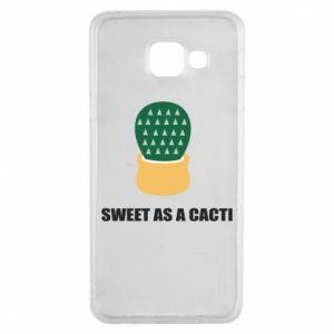 Etui na Samsung A3 2016 Sweet as a round cacti