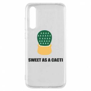 Etui na Huawei P20 Pro Sweet as a round cacti