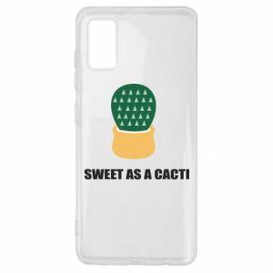 Etui na Samsung A41 Sweet as a round cacti