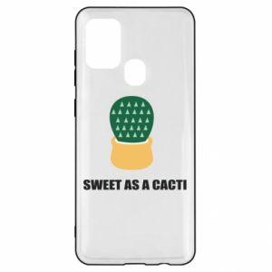 Etui na Samsung A21s Sweet as a round cacti