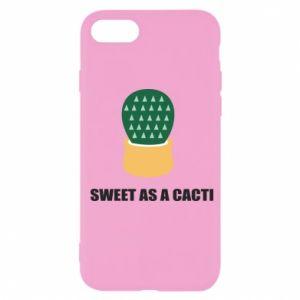 Etui na iPhone SE 2020 Sweet as a round cacti