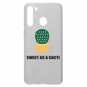 Etui na Samsung A21 Sweet as a round cacti