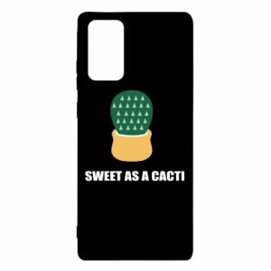 Etui na Samsung Note 20 Sweet as a round cacti