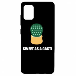 Etui na Samsung A51 Sweet as a round cacti