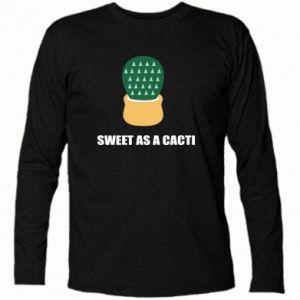 Koszulka z długim rękawem Sweet as a round cacti