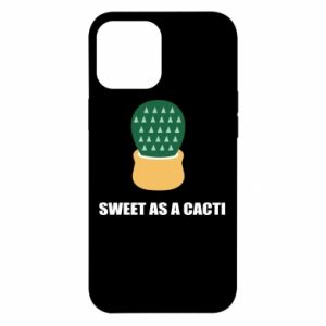 Etui na iPhone 12 Pro Max Sweet as a round cacti