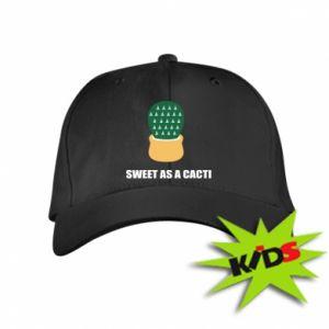 Czapeczka z daszkiem dziecięca Sweet as a round cacti