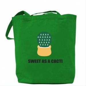 Torba Sweet as a round cacti