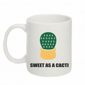 Kubek 330ml Sweet as a round cacti