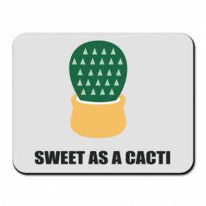 Podkładka pod mysz Sweet as a round cacti