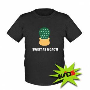 Koszulka dziecięca Sweet as a round cacti