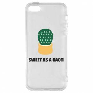 Etui na iPhone 5/5S/SE Sweet as a round cacti