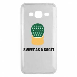 Etui na Samsung J3 2016 Sweet as a round cacti