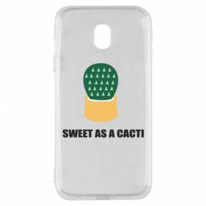 Etui na Samsung J3 2017 Sweet as a round cacti