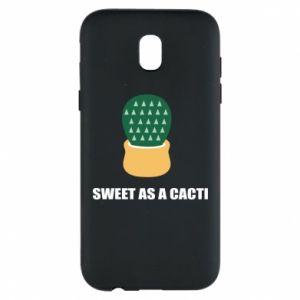 Etui na Samsung J5 2017 Sweet as a round cacti