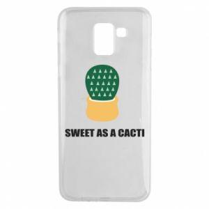 Etui na Samsung J6 Sweet as a round cacti