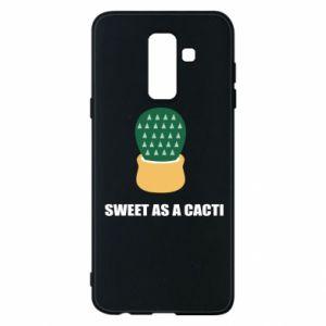 Etui na Samsung A6+ 2018 Sweet as a round cacti