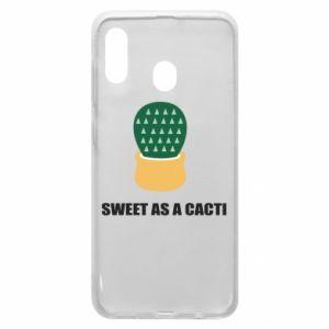Etui na Samsung A20 Sweet as a round cacti