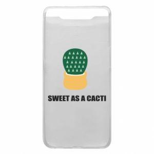 Etui na Samsung A80 Sweet as a round cacti
