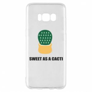 Etui na Samsung S8 Sweet as a round cacti