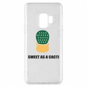 Etui na Samsung S9 Sweet as a round cacti