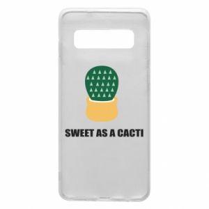 Etui na Samsung S10 Sweet as a round cacti