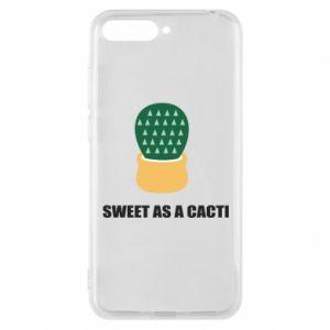 Etui na Huawei Y6 2018 Sweet as a round cacti