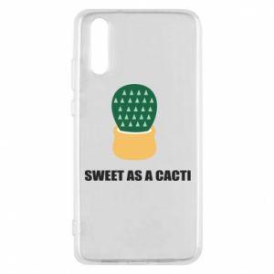 Etui na Huawei P20 Sweet as a round cacti