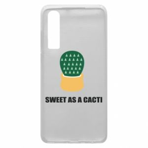 Etui na Huawei P30 Sweet as a round cacti