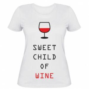 Koszulka damska Sweet child of wine