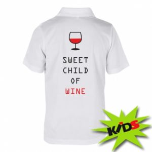 Children's Polo shirts Sweet child of wine