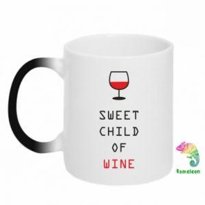Kubek-kameleon Sweet child of wine