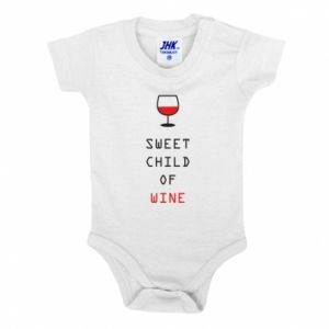 Body dla dzieci Sweet child of wine