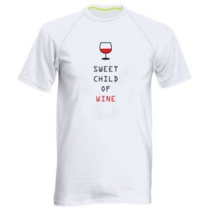 Men's sports t-shirt Sweet child of wine